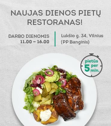 """SAVITARNOS DIENOS PIETŲ restoranas PP """"Banginis"""""""
