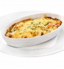 Dienos sriuba + Daržovių apkepėlė su vištiena